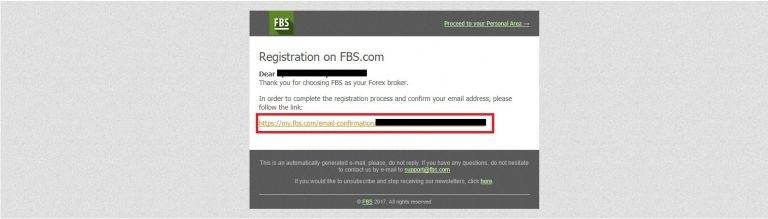 เปิดบัญชีเทรด Forex FBS
